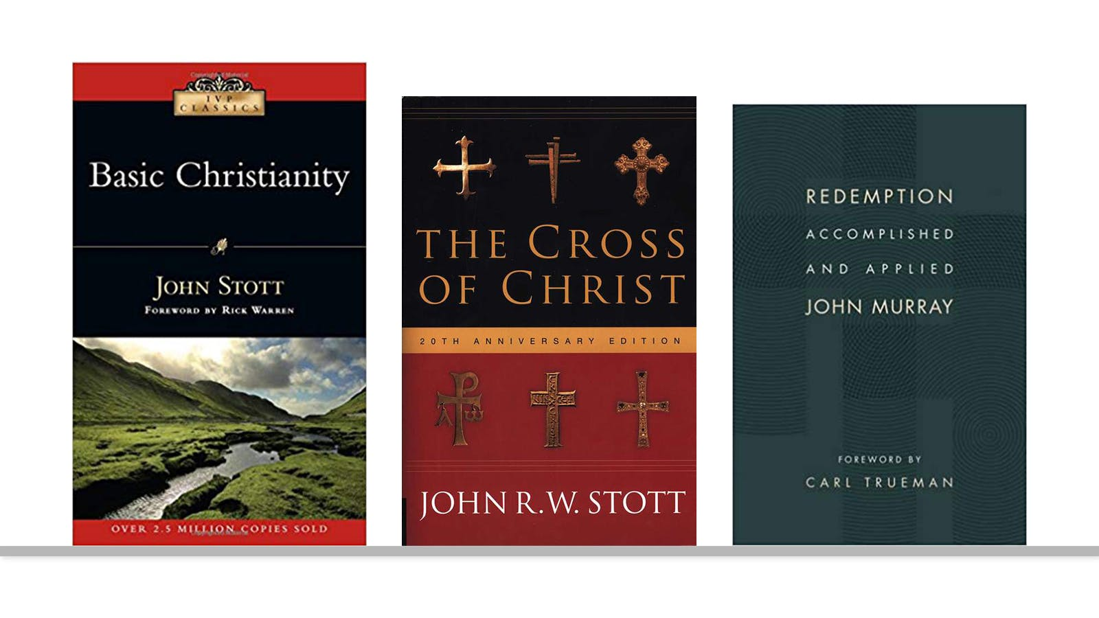 7bb816551a31 I would point you to two by John Stott: Basic Christianity and The Cross of  Christ. There are no Stotts left that I know of.