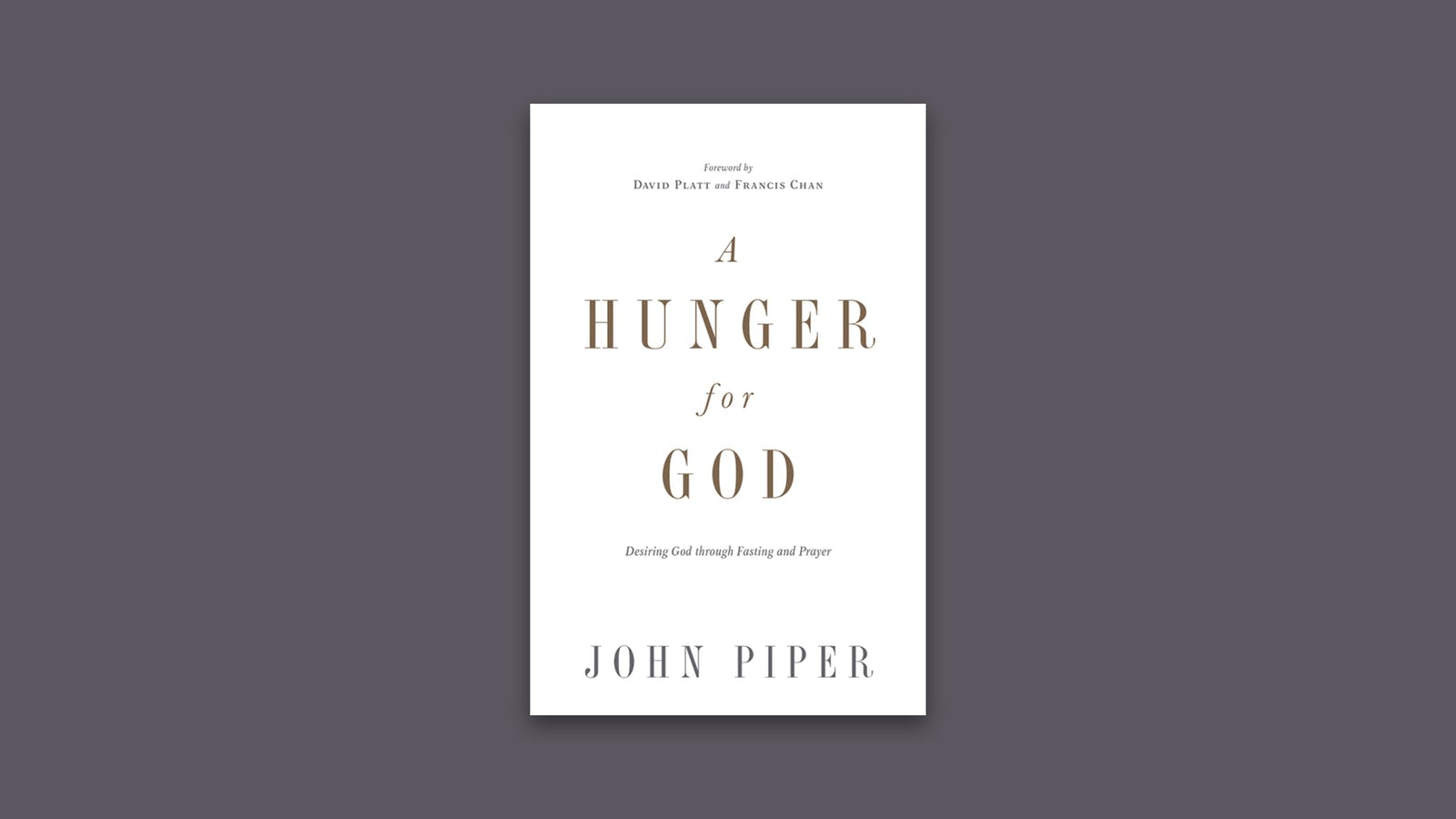 A hunger for god desiring god stopboris Gallery
