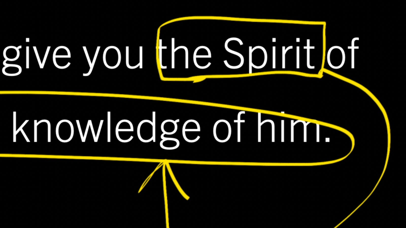 """Access to God Is """"in the Spirit"""""""