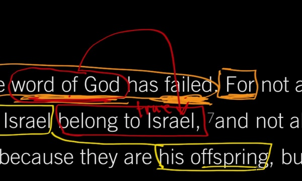 Romans 9:6–8 : God's Promises Never Fail