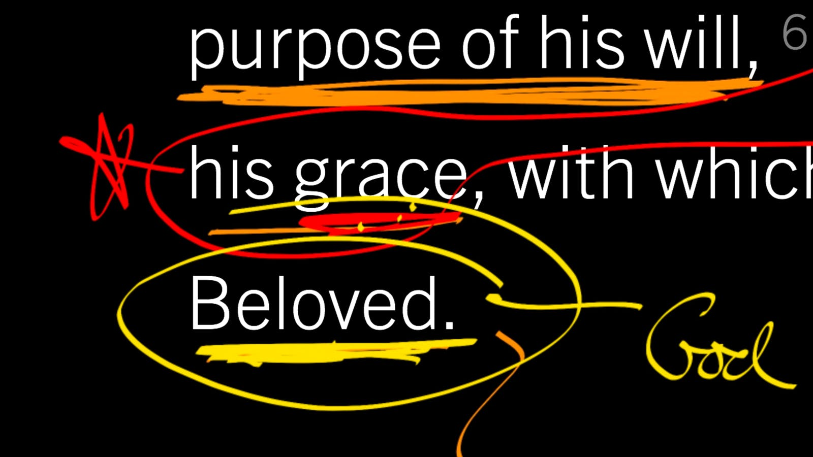 Grace Flows from Joy in the Trinity: Ephesians 1:7–10, Part 5