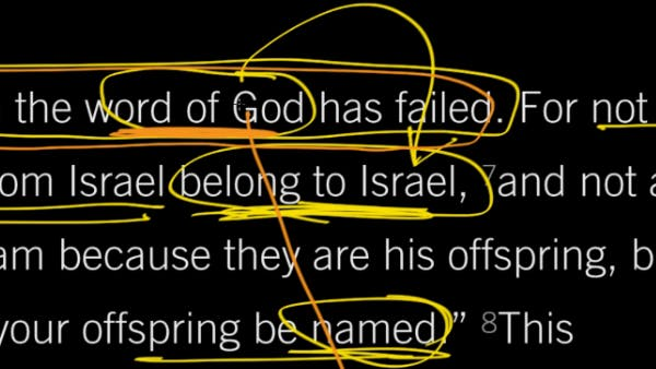 Romans 9:9–13, Part 1: Jacob I Loved, But Esau I Hated | Desiring God