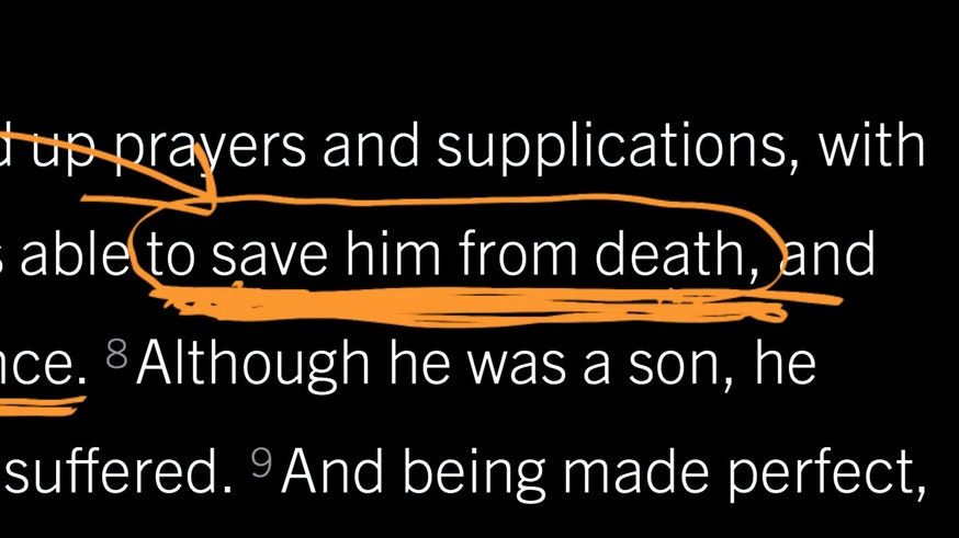 Hebrews 5:7–10: Jesus's Prayer in His Darkest Hour