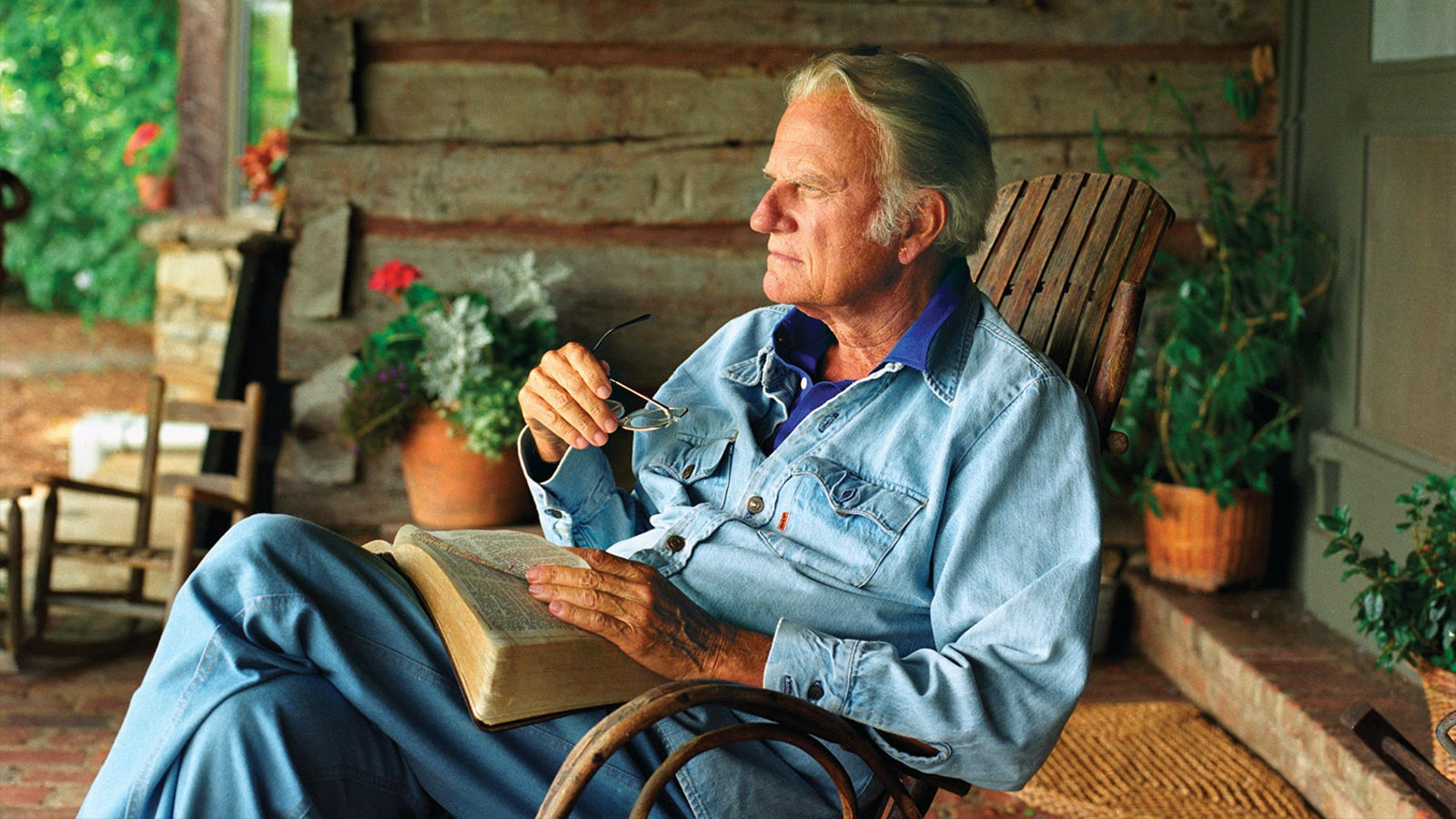 On the Day Billy Graham Died