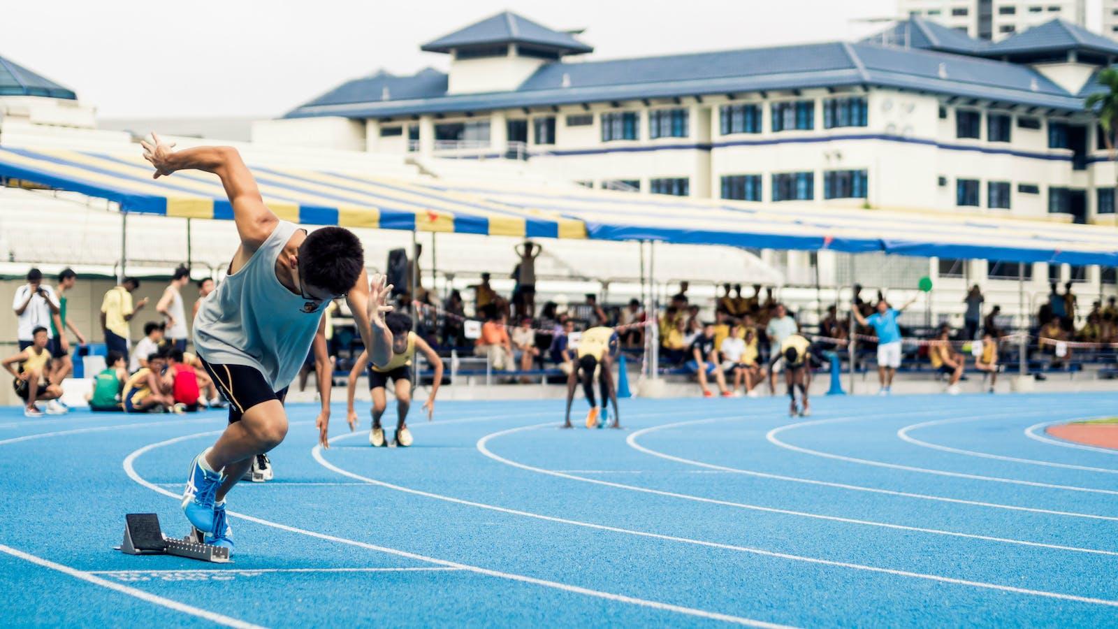 Run The Race To Finish Desiring