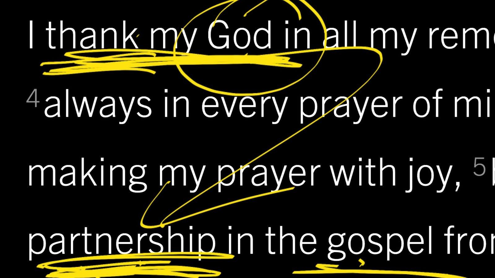 Philippians 1:9–11: Should I Tell Someone I Pray for Them