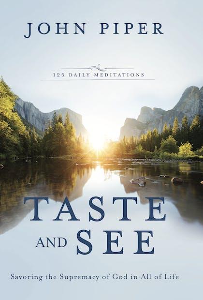 Taste and See book