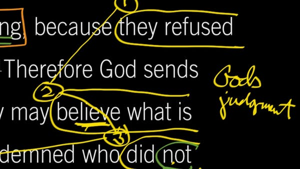 2 Thessalonians 2:9–12: They Refused to Love the Truth