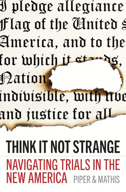 Think It Not Strange book
