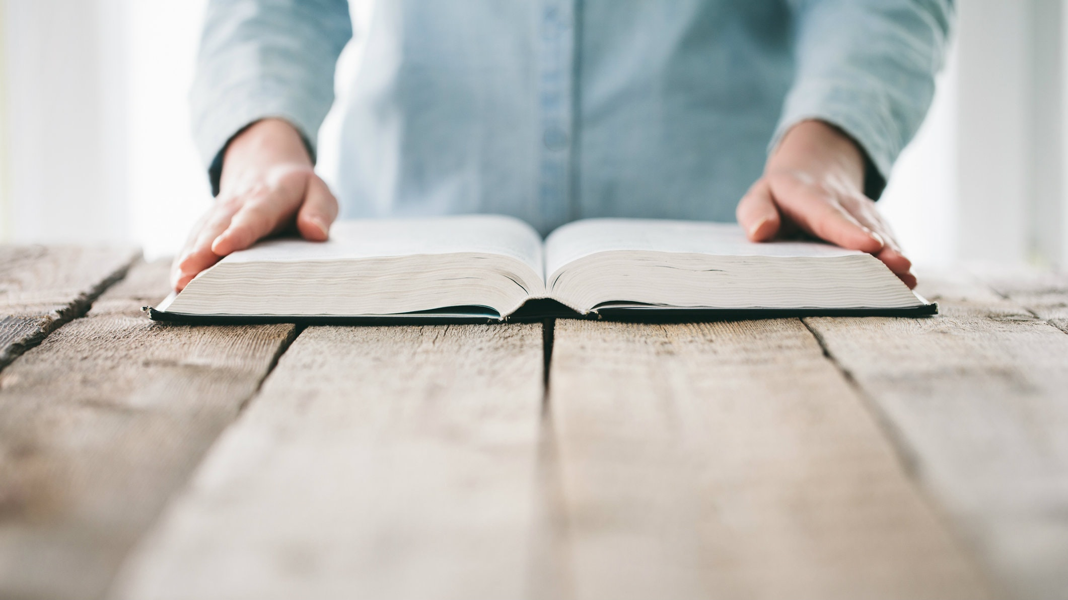 Can I read the gospel while sitting and lying down
