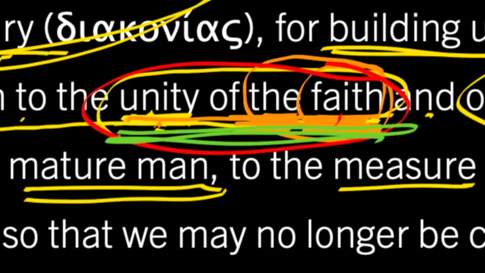 Unity in Truth Understood and Embraced