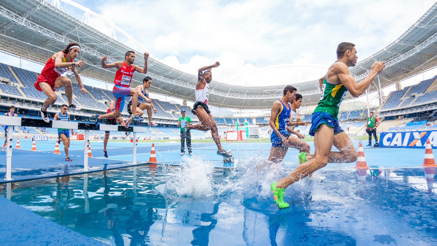 Lomba lari di olimpiade