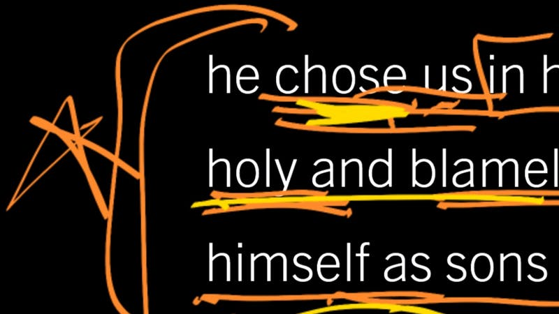 Why Did God Choose Whom He Chose?