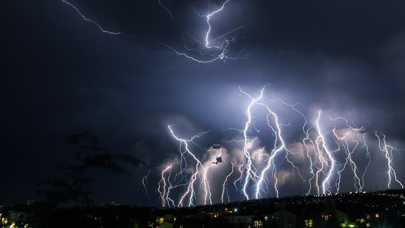 Worship in a Lightning Storm